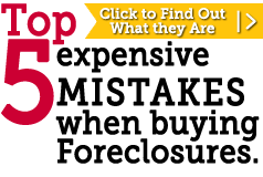 5 Costly Mistakes When Buying Government Foreclosures
