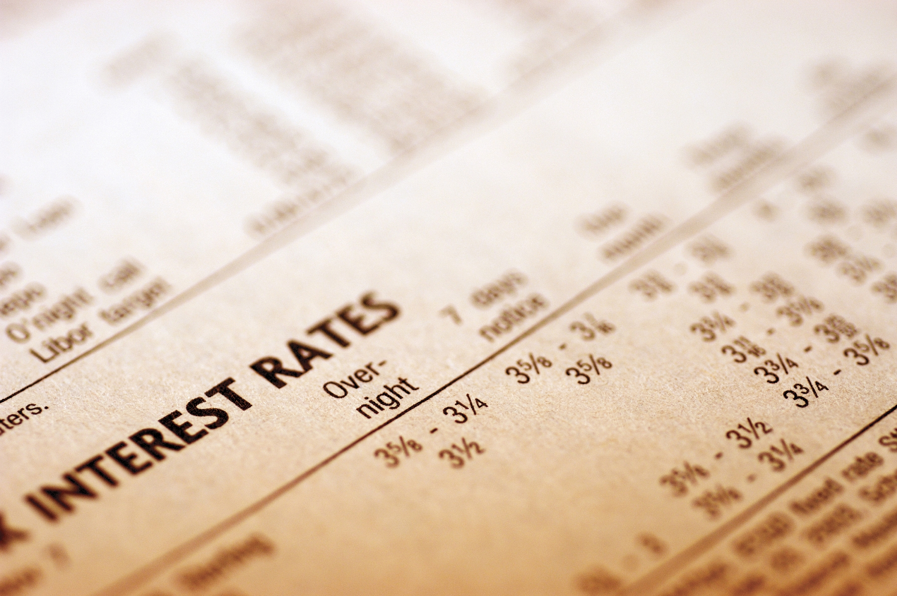 Interest Rate Report – July 2018