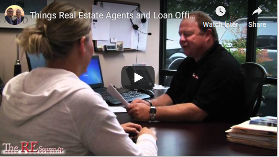 What Agents and Loan Officers Wish They Could Say